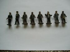 VINTAGE DINKY/BRITAINS LEAD FIGURES X EIGHT - 1.75 INCH (4cm)