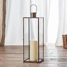 Laterne Glühbirne antique kohle Fabrikstil Metall Lampe Chic Antique Kuppel