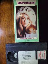 Repulsion 1965 (VHS) Roman Polanski Horror Surreal Character Study : ) uncut box