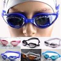 Ajustable Gafas Natación Agua UV Antiempañante Chapado Pere Adulto y Niños ES