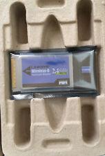 Linksys WPC54G Ver. 2 Wireless-G 2.4GHz 802.11g  PCMCIA Notebook Adapter Card——2