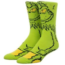 Dr. Seuss The Grinch 360 Character Socks, 10-13