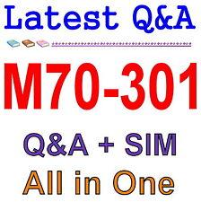 Best Exam Practice Material For Front End Developer M70-301 Exam Q&A PDF+SIM