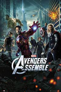 "The Avengers - Movie Poster (Regular Style - Avengers Assemble) (Size: 24 X 36"")"