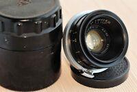 Jupiter-12 2,8/35mm lens Black Kiev-Contax RF mount #8703598