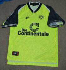 Vtg Michael Zorc 1995/96 Borussia Dortmund Nike Soccer Football Jersey L Germany