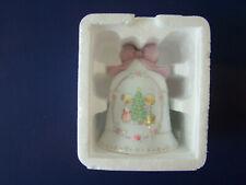 Precious Moments/Avon 1997 Porcelain Christmas Bell
