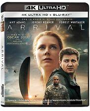 ARRIVAL (BLU-RAY 4k Ultra HD + Blu-Ray) con Amy Adams,Jeremy Renner