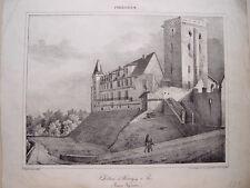 France. Basses Pyrénées. Dessin Paul Jean P. Gelibert. Lithographie Engelmann.