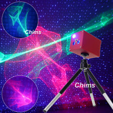 Chims Mini Laser Light Light Cordless RGB Aurora Star Family DJ Party Projector
