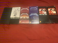 Metallica Longbox Collection SEALED Kill Em, Lightning, Puppets, Justice, Black