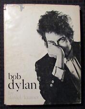 1962 BOB DYLAN by Daniel Kramer HC/DJ VG+/GD+ 2nd Castle