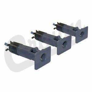 Crown Chorcoal Door Pin Insert Kit for 87-06 Jeep Wrangler YJ / TJ 5FB63JS1K