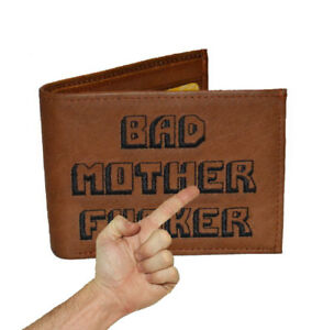 """The Original BMF Brown Leather Wallet """"I GOT'S TO HAVE IT!"""""""
