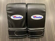 Winning Punching Gloves Special Color Deluxe Tape Type Gold Ship From Japan