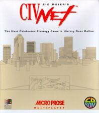 CIV Net CivNet Sid Meier PC Spiel +1clk Windows 10 8 7 Vista XP installieren