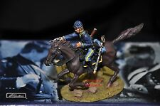 BRITAINS 17397 UNION CAVALRY PRIVATE MOUNTED METAL TOY SOLDIER FIGURE NO.2
