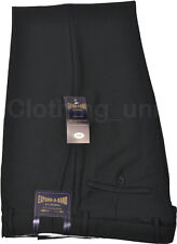 Mens Smart Formal Casual Dress Trousers Expand a Band
