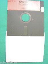 Commodore programmi C64 C 64 128 floppy minidisk FERRARI formula one RICK KOENIG