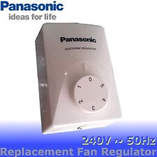 Panasonic Fan Regulator Switch 5 Speed Fan Controller Knob replacement part 240V