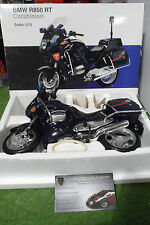 MOTO  BMW R850 RT Carabinieri bleu 1/10 AUTOart 80430024407 miniature collection