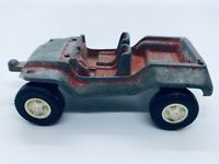 Vintage TOOTISIETOY 1969 Car Jeep Tow Hitch Red Metal Diecast Toy