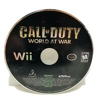 Call of Duty: World at War Nintendo Wii Video Game - Disc Only - Tested Working