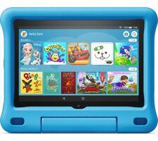 """AMAZON Fire HD 8"""" Kids Tablet (2020) - 32 GB Blue - Currys"""