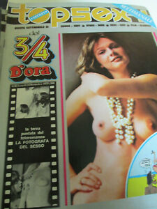 Topsexy anno III n. 58 - Edizione originale Novembre 1973 - Per adulti