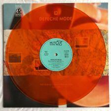 "DEPECHE MODE -Never Let Me Down Again-Rare German Orange Vinyl 12"" (Record)"
