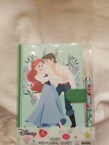 Disney Princess The Little Mermaid Deluxe Journal Pen Set Walgreens Exclusive