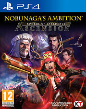 Nobunaga's Ambition Sphere Of Influence PS4 Playstation 4 IT IMPORT TECMO KOEI