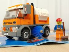 CLEAN Lego Town City Square Street Sweeper + Figure + Manual 8404