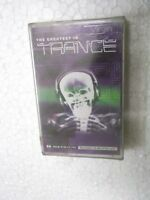 THE GREATEST IN TRANCE   SEALED   RARE orig CASSETTE TAPE INDIA indian