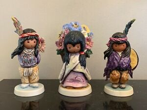 DeGrazia Goebel Set of 3 Figurines