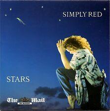 SIMPLY RED - STARS -  PROMO CD - THE MAIL ON SUNDAY - MICK HUCKNALL (vgc)
