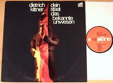 Dietrich Kittner-il tuo stato, l'ignoto Ledger (casa editrice piani 1972/LP M -)