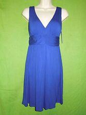 Jantzen summer beach casual dress blue sleeveless above knee cover up  size S
