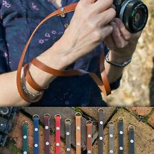 "The 1901 ""Eggleston"" CUSTOM LENGTH Leather Camera Strap - Caradog's Brown"