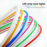 DC12V SMD2835 Flexible LED Strip Waterproof Neon Light Silicone Tube 1m-5m Lamp