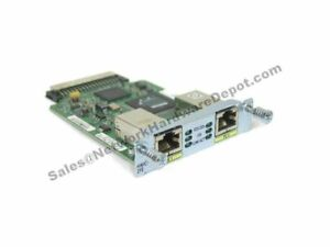 Cisco HWIC-2FE 2-Port version of HWIC-1FE Fast Ethernet HWIC - 1 Year Warranty