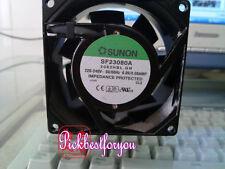 SUNON SF23080A-2083HSL.GN Cooling fan 220-240V 0.09/0.08AMP 80x80x38mm #MG43 QL
