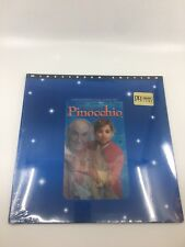 NEW 1996 The Adventures of Pinocchio Laserdisc Movie ~ Widescreen Dolby Digital