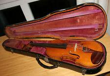 sehr schöne Geige Violine W.Ed.Voigt Markneukirchen im Holzkasten