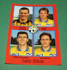 N°364 MANTAUX ROYE DAVID DRUON SAINT-BRIEUC D2 PANINI FOOT 97 FOOTBALL 1996-1997