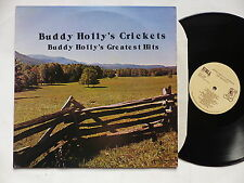 BUDDY HOLLY ' s CRICKETS Buddy Holly's greatest hits KOALA RECORDS KOA 4206 1979