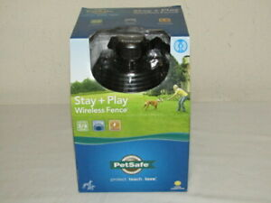PetSafe Stay+Play Wireless Fence PIF00-12917 Portable System NEW