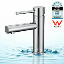 WELS WaterMark Round Basin Mixer Bathroom Kitchen Vanity Cabinet Sink Tap Chrome