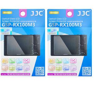 2 Packs JJC Tempered Glass LCD Screen Protector SONY RX1 RX1R II RX100 II III IV