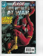 Flash Our Worlds At War #1 DC Comics Combine Shipping 2001